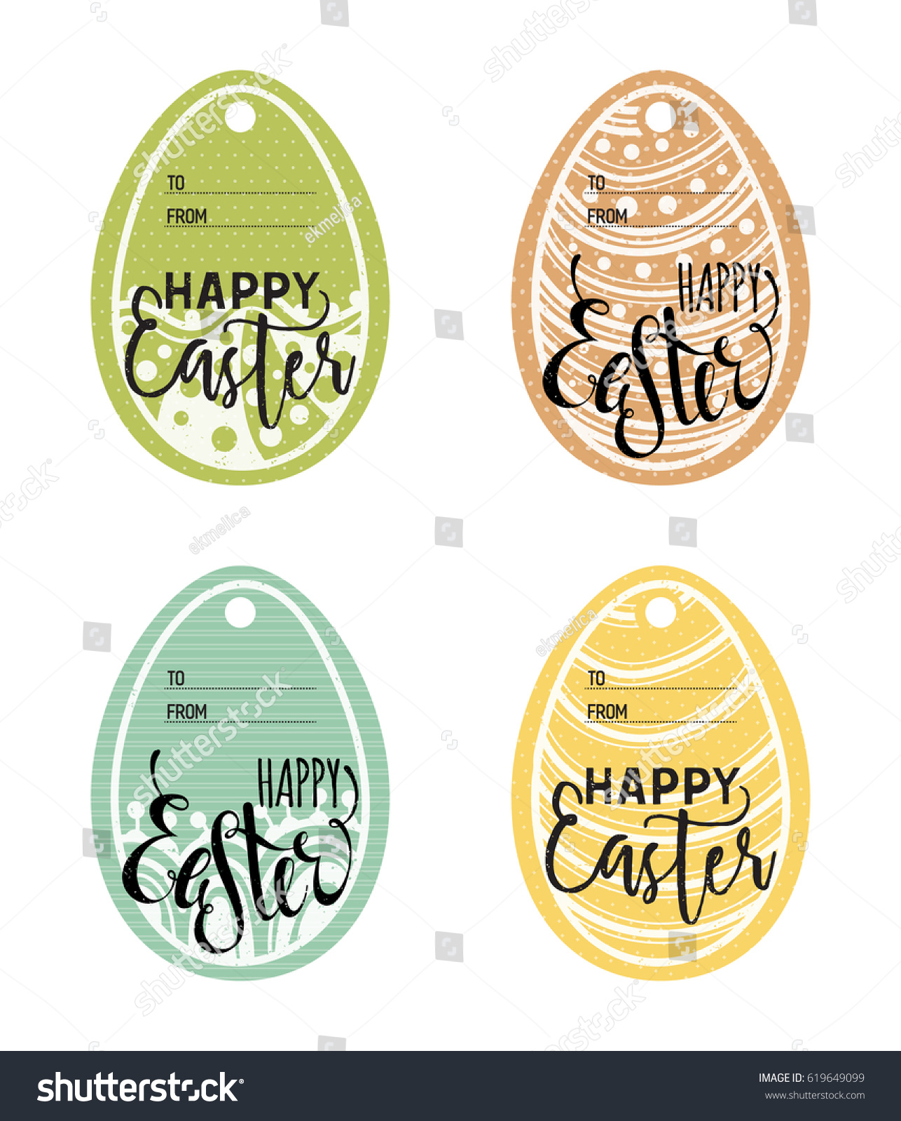Vintage easter gift tags gallery gift and gift ideas sample set vintage easter gift tags happy stock vector 619649099 set of vintage easter gift tags happy negle Images
