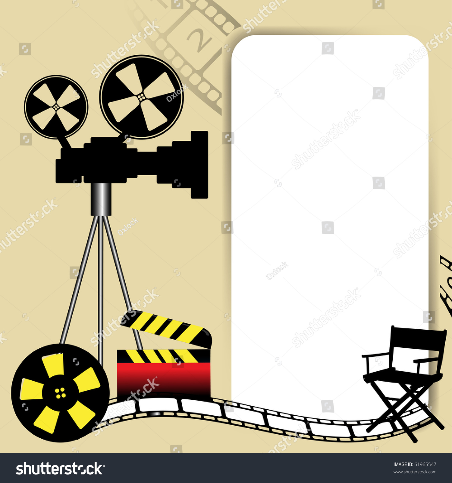 movie reel wallpaper border - photo #49