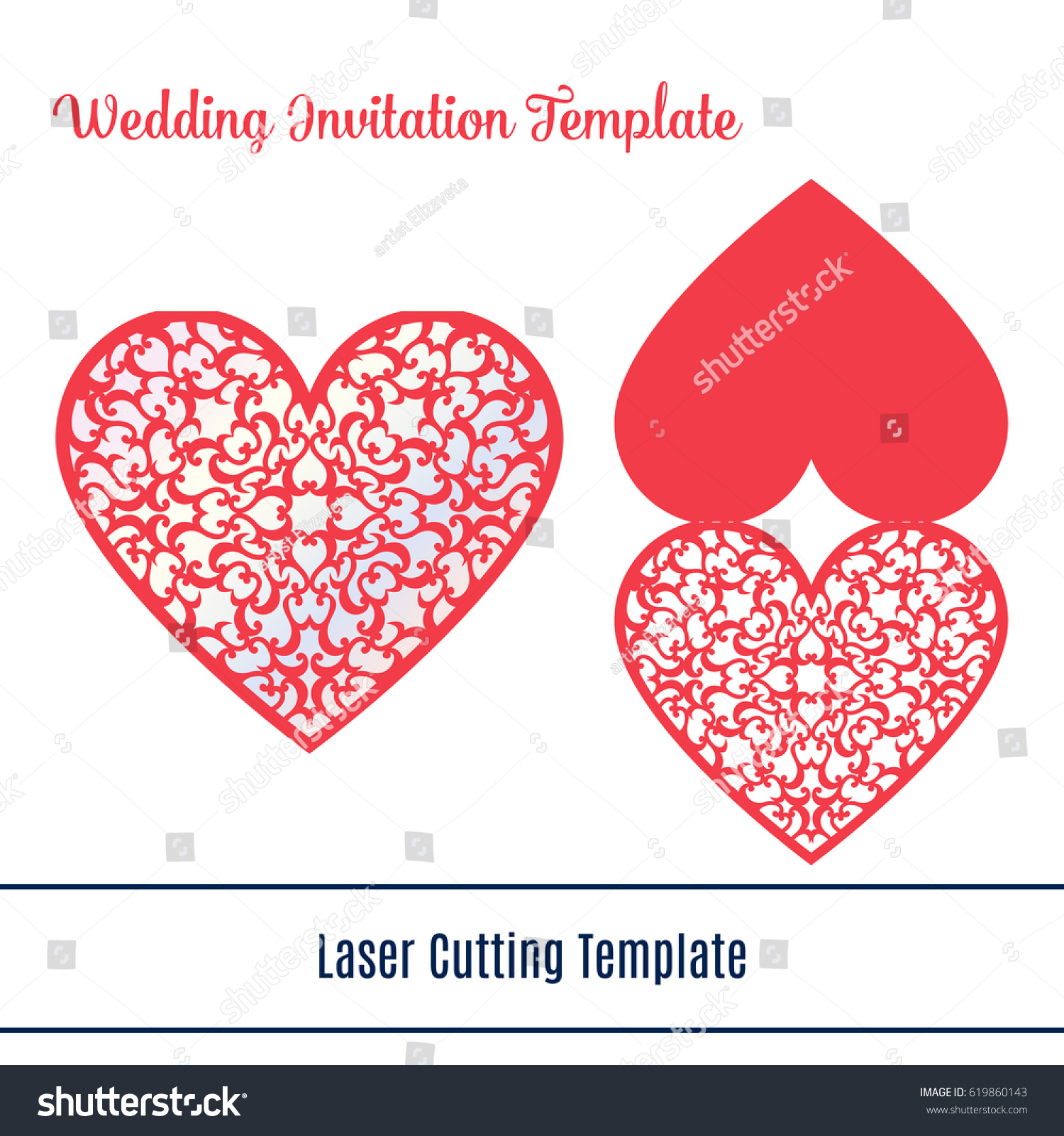 Laser cut mothers day card wedding stock vector royalty free laser cut mothers day card wedding invitation laser cutting template for diy greeting cards m4hsunfo