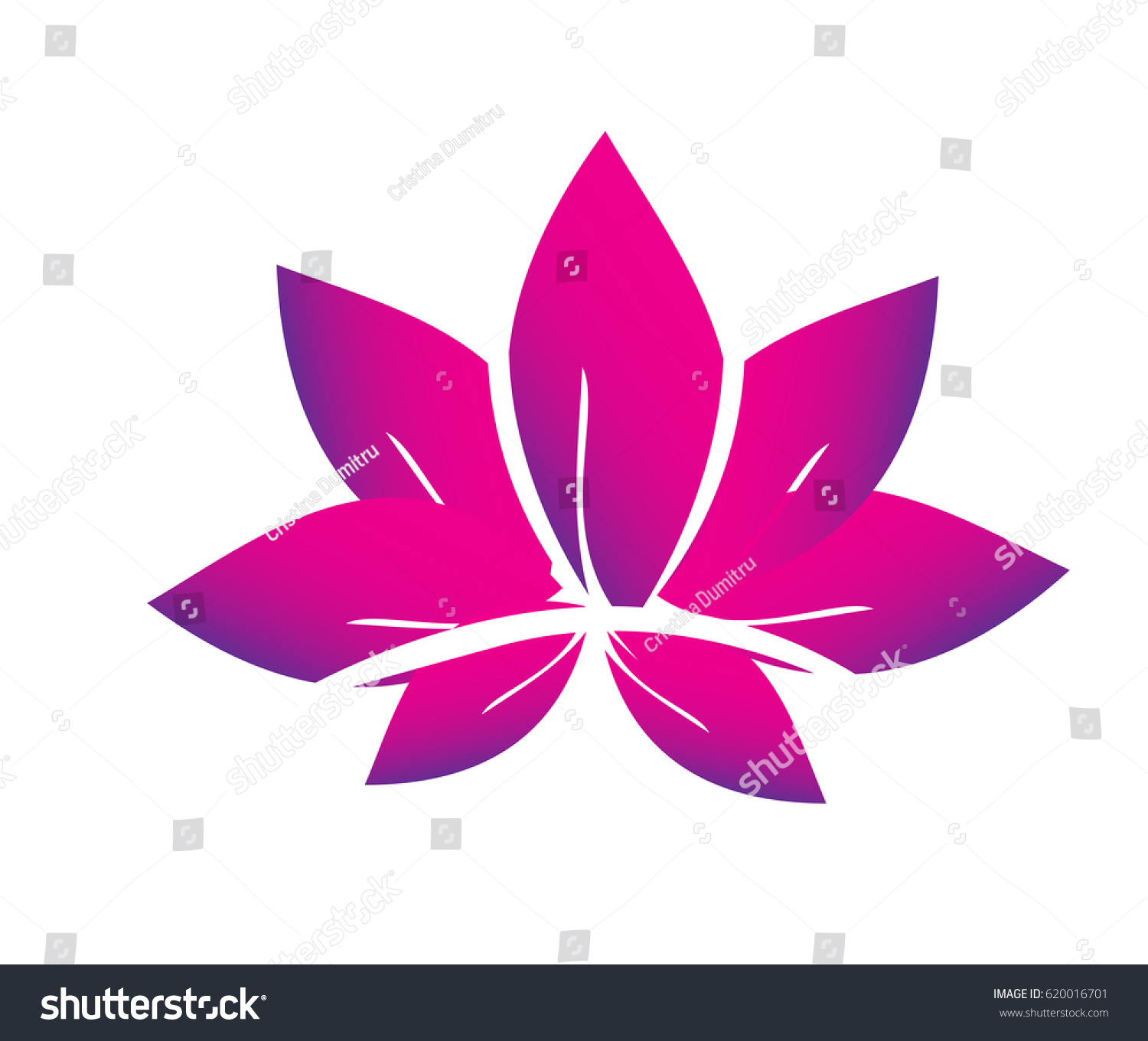 Lotus flower spa vector logo stock vector royalty free 620016701 lotus flower spa vector logo izmirmasajfo