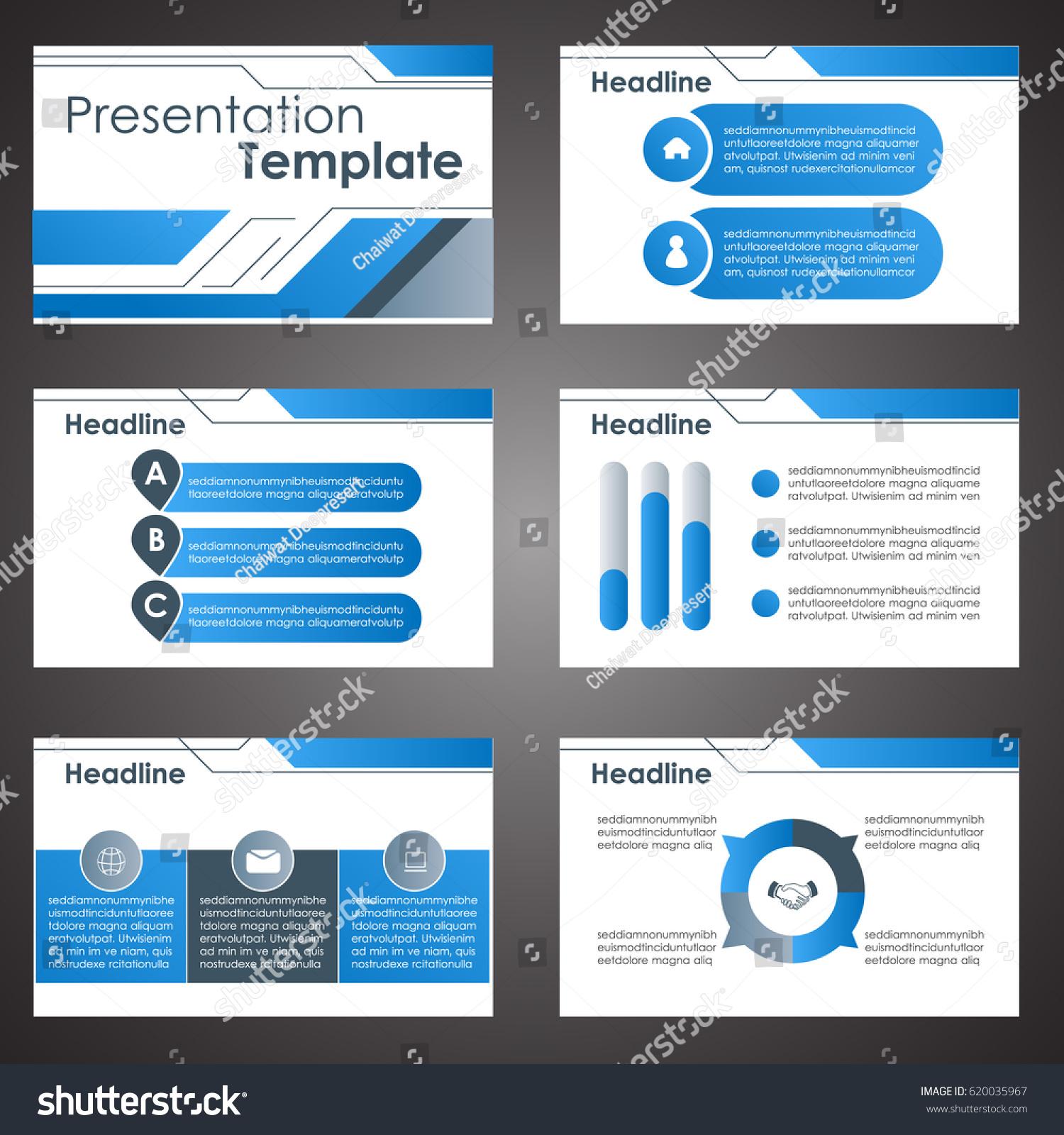 Business presentation template setpowerpoint template design stock business presentation template setpowerpoint template design backgrounds toneelgroepblik Choice Image