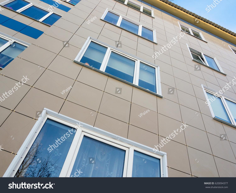 Ceramic tile facade image collections tile flooring design ideas use ceramic tiles decoration facade house stock photo 620094377 the use of ceramic tiles in the doublecrazyfo Images