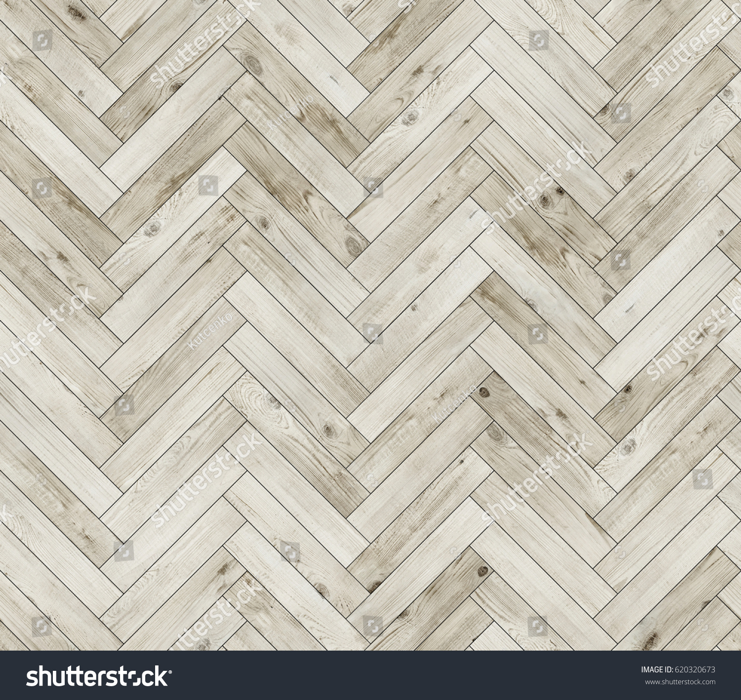 herringbone bleached natural parquet seamless floor stock photo 620320673 shutterstock. Black Bedroom Furniture Sets. Home Design Ideas