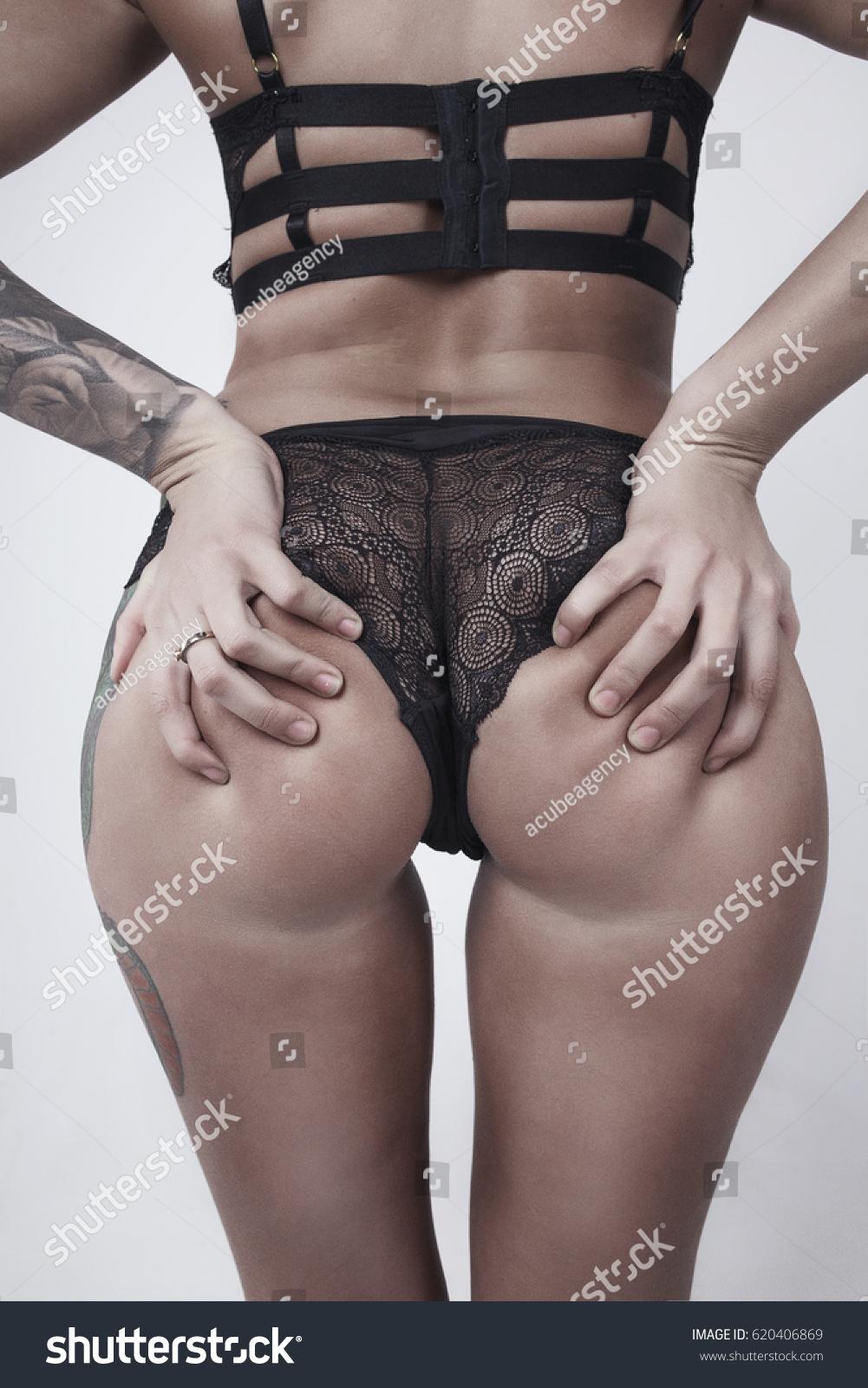 Lace Underwear Tattoo