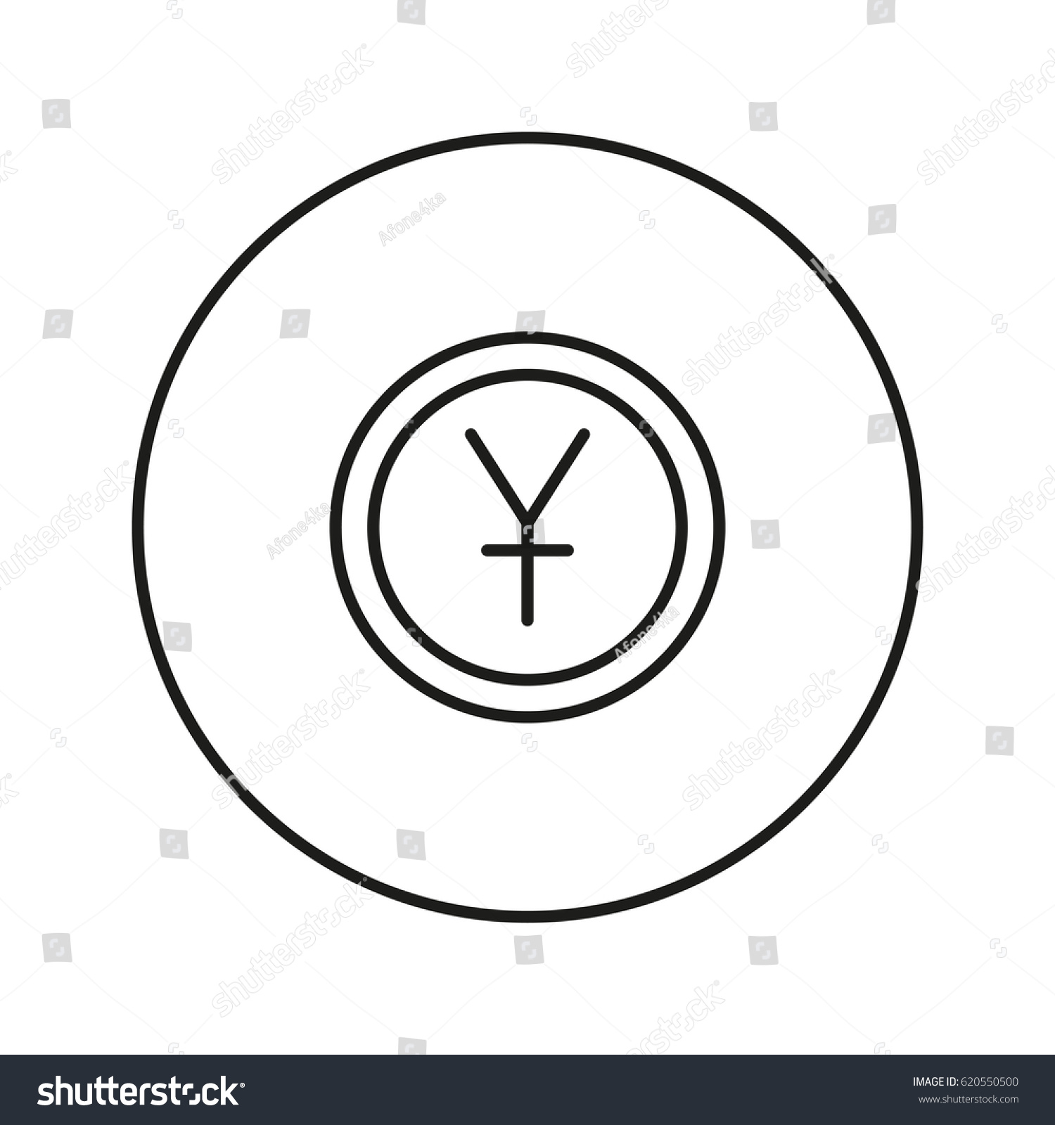 Money sign coin yuan icon web stock vector 620550500 shutterstock money sign coin yuan icon for web and mobile application vector illustration biocorpaavc Image collections