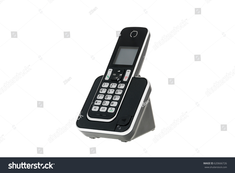 Modern Cordless Landline Dect Phone Charging Stock Photo (Royalty Free)  620666726   Shutterstock