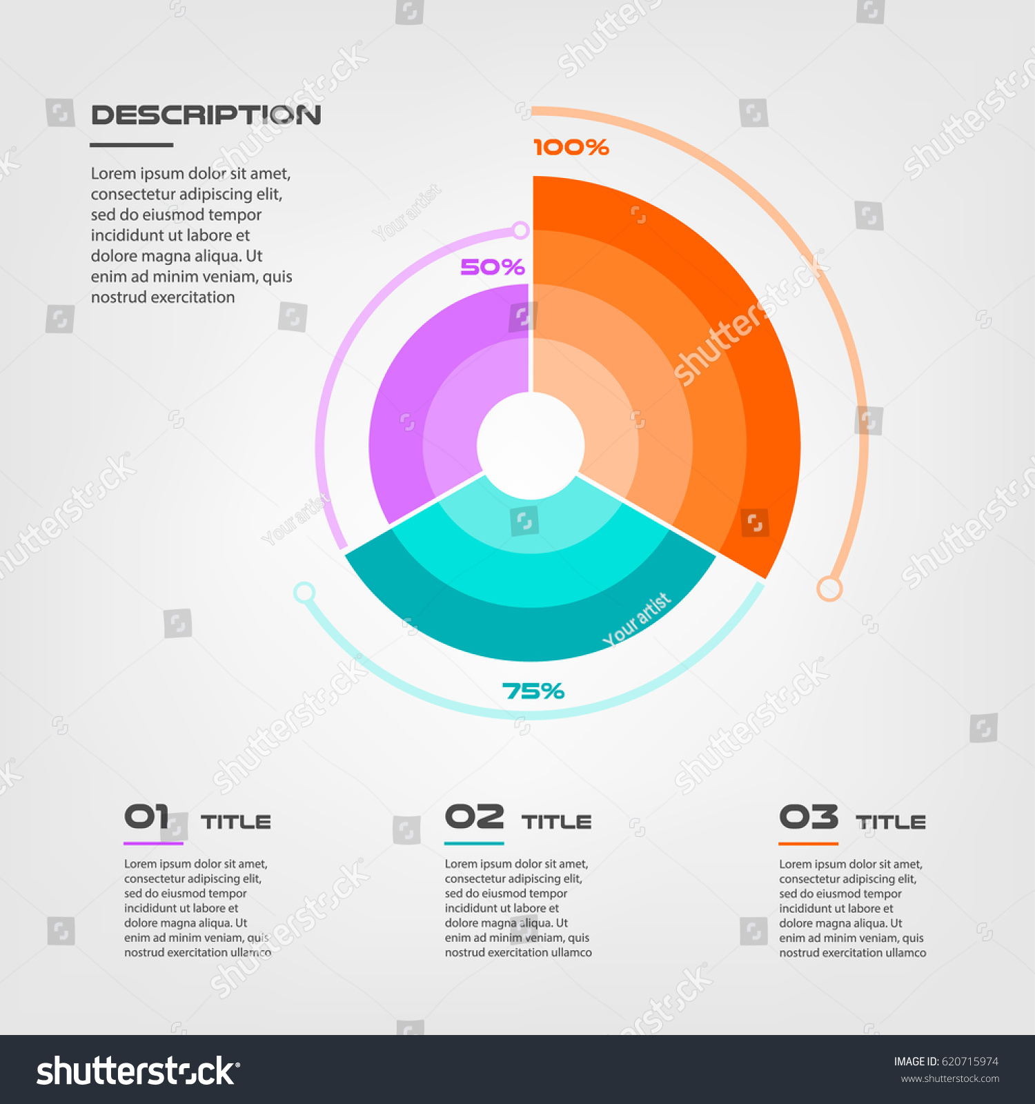 Sunburst chart color infographics step by stock vector 620715974 sunburst chart color infographics step by step in a series of circle element of chart nvjuhfo Gallery