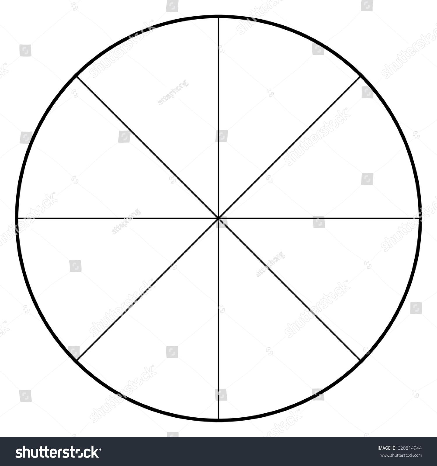 Blank polar graph paper protractor pie stock vector 620814944 blank polar graph paper protractor pie chart vector geenschuldenfo Image collections
