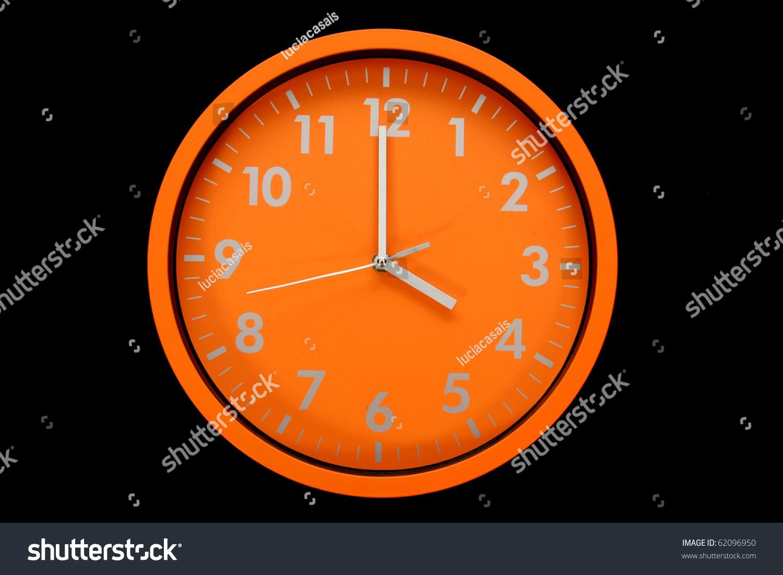 Beautiful clock on wall 4h 16h stock photo 62096950 shutterstock beautiful clock on the wall 4h 16h 4pm amipublicfo Gallery
