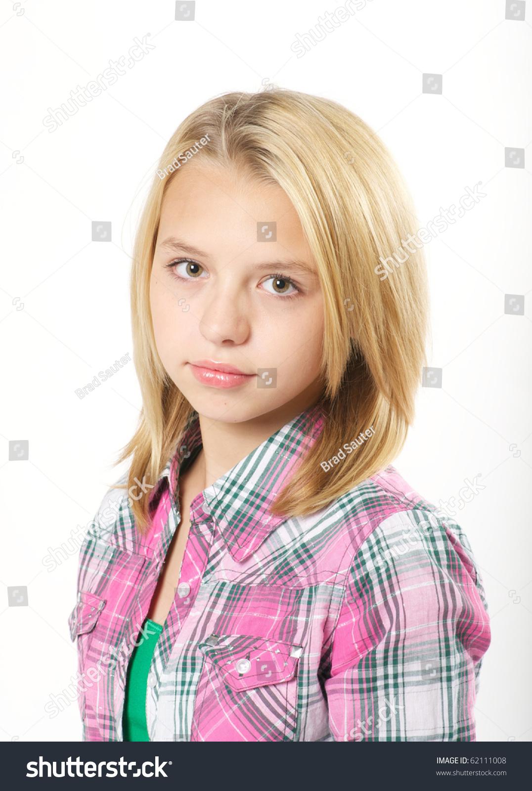 Young pre teen