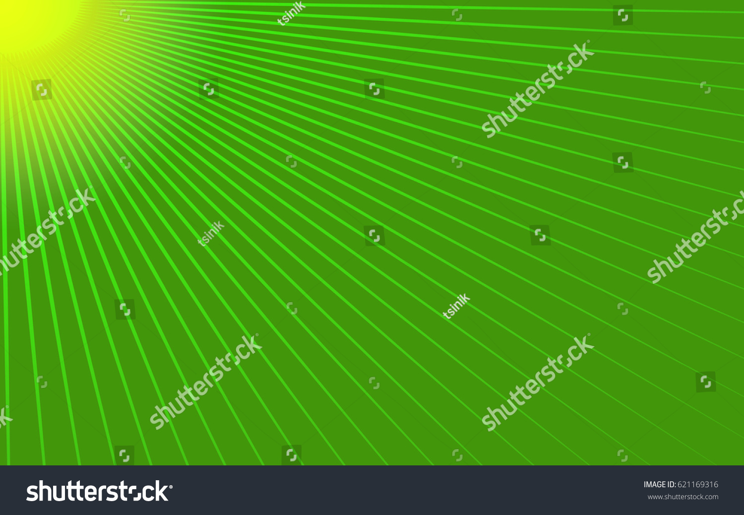 rays on the green
