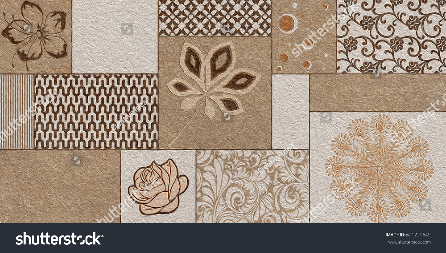 Home decorative wall tiles design background stock illustration home decorative wall tiles design background for building amipublicfo Gallery