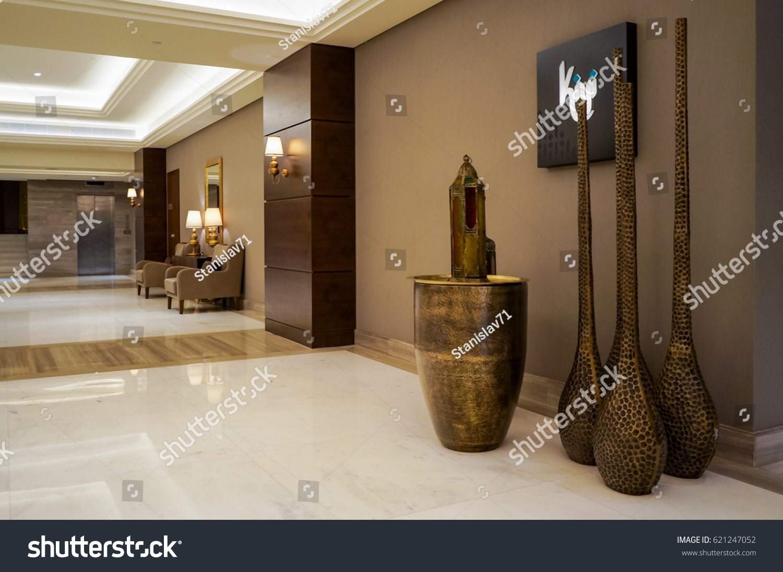 ajman summer 2016 marble modern interior stock photo royalty free 621247052 shutterstock