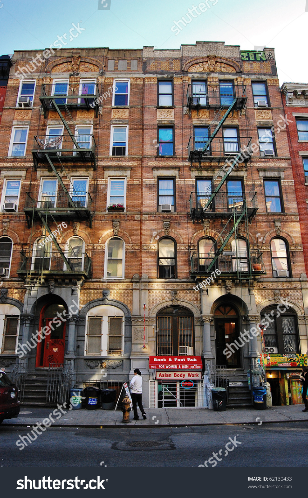 Apartment Building Front front famous apartment building new york stock photo 62130433