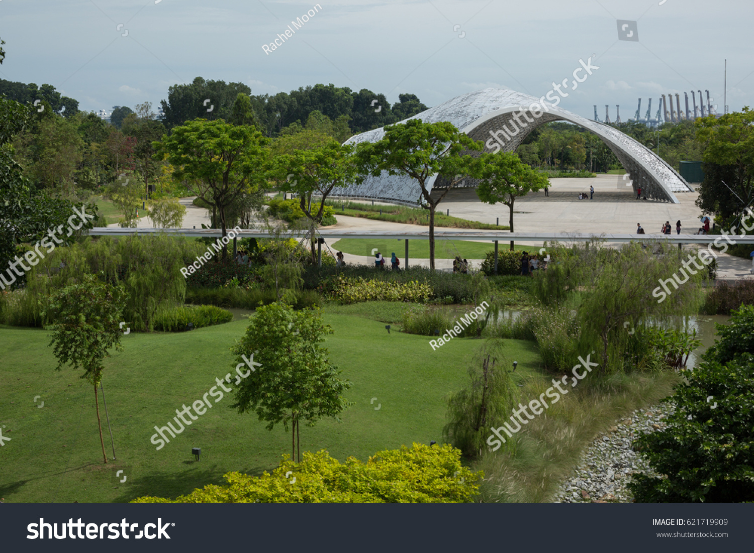 singapore apr 2 2017 future of us exhibition pavilion - Garden By The Bay Exhibition