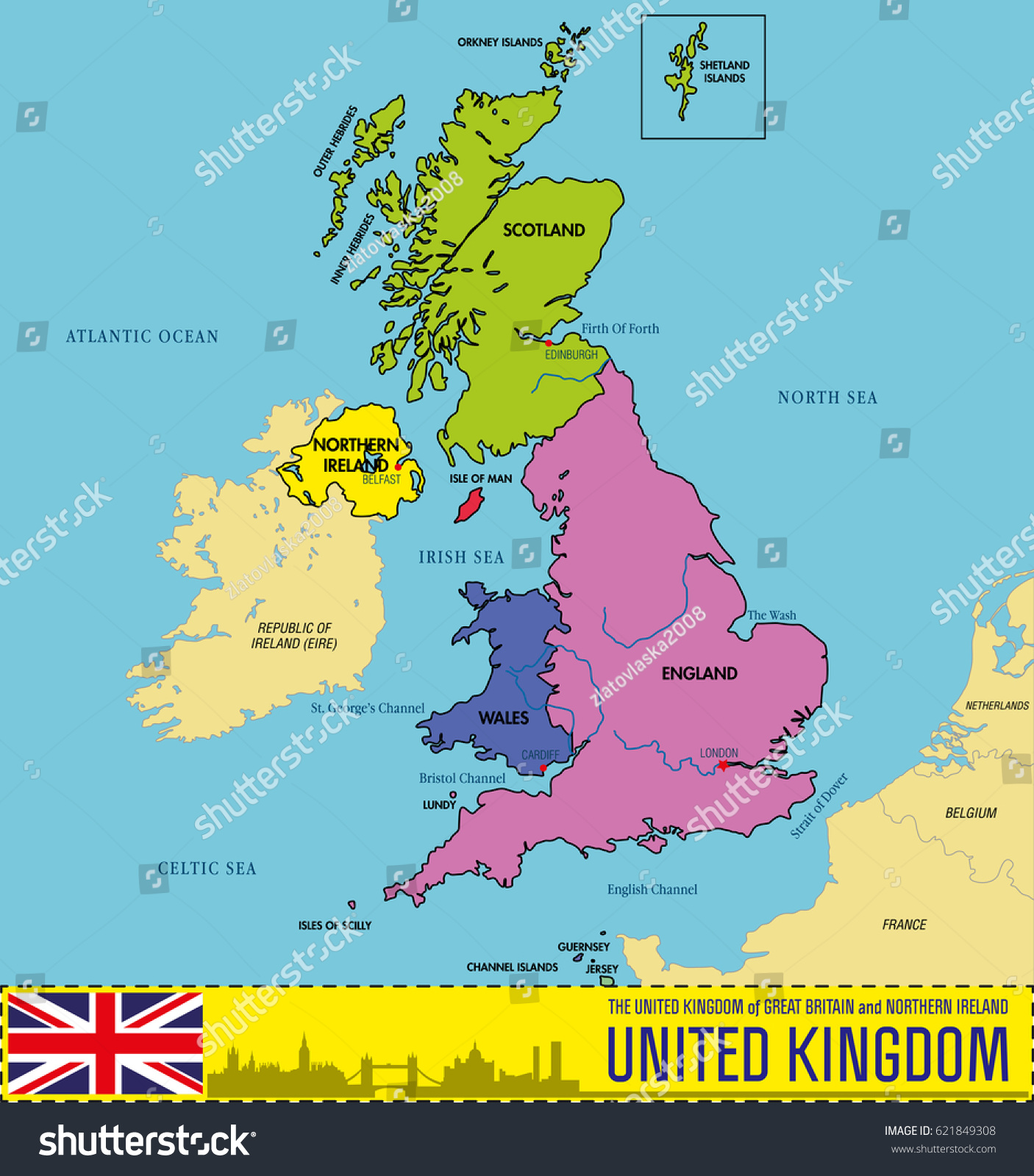 Vector highly detailed political map united vector de stock621849308 vector highly detailed political map united vector de stock621849308 shutterstock gumiabroncs Choice Image