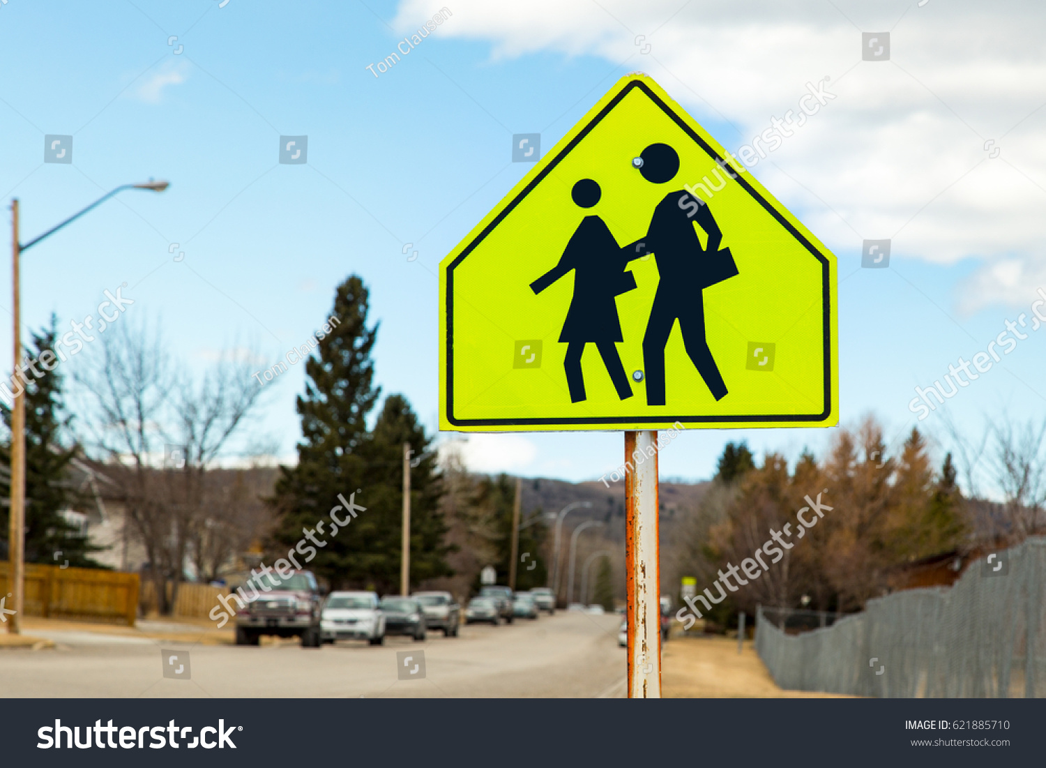 Lime Green Sign Symbols School Students Stock Photo Download Now