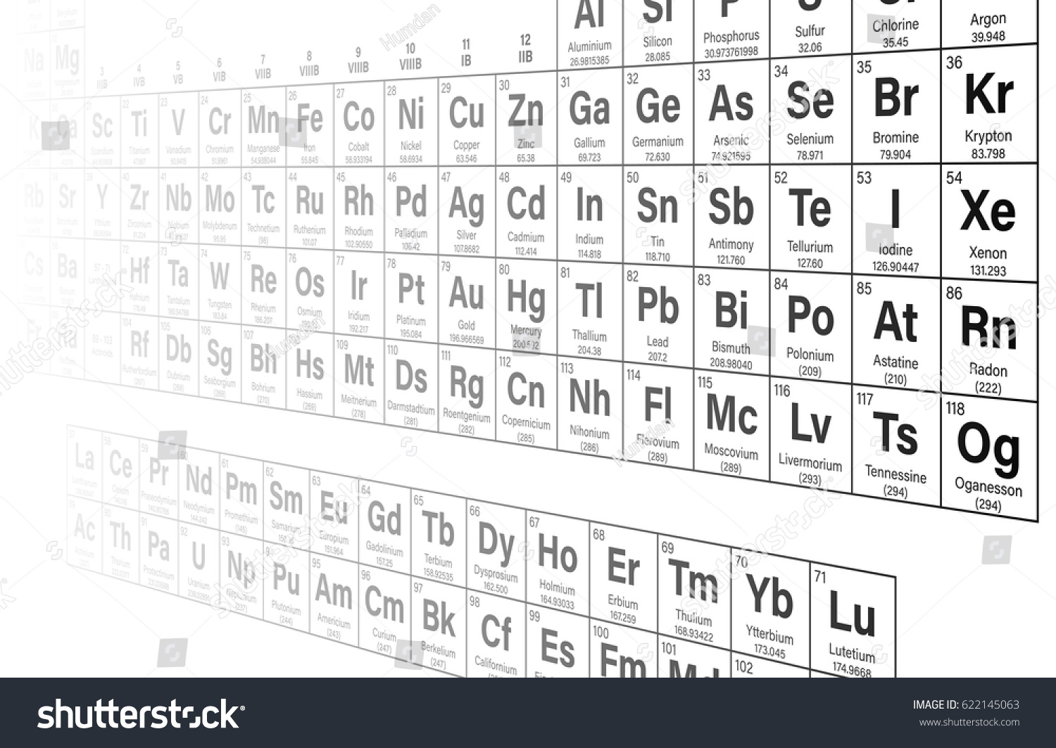 Periodic table elements vector illustration shows stock photo photo periodic table of the elements vector illustration shows atomic number symbol name and urtaz Image collections
