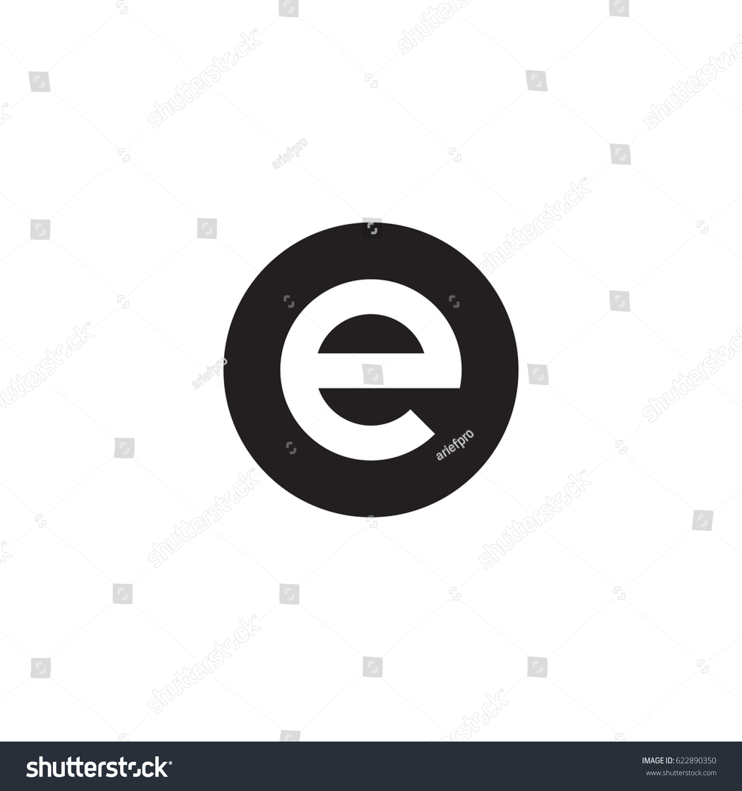 Circle E Logo Initial ...E Logo With Circle