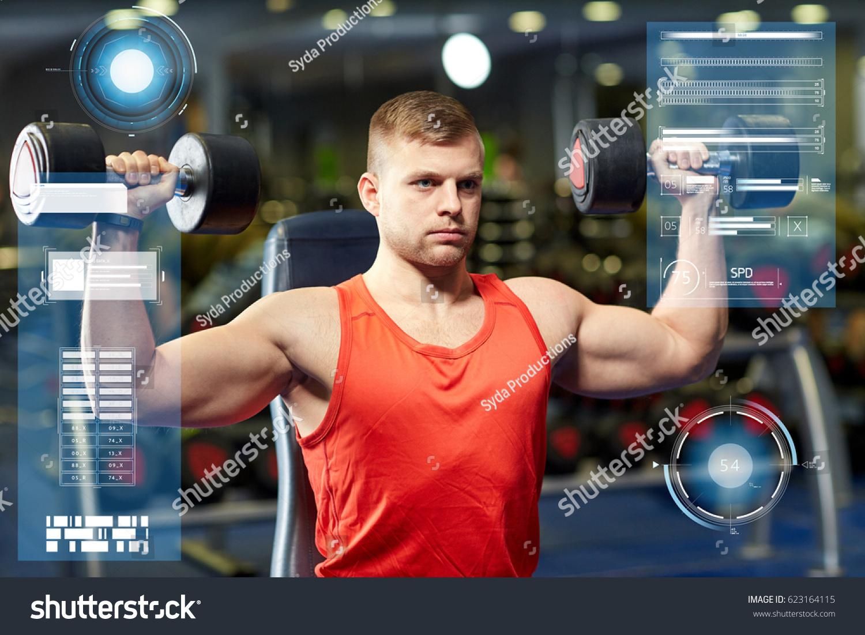 Bodybuilder Muscle Chart Tollebild