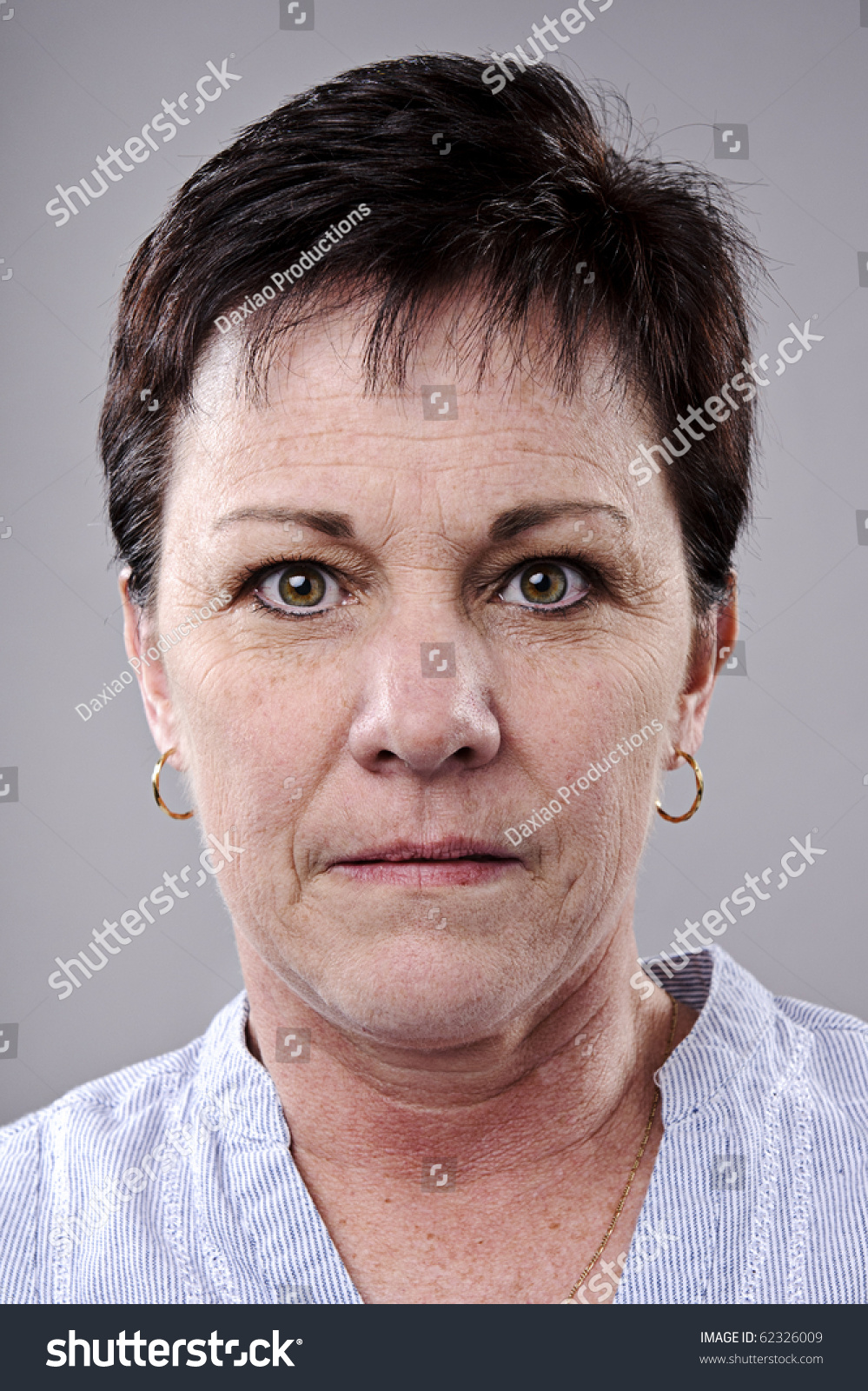brunette older woman portrait high detail stock photo 62326009