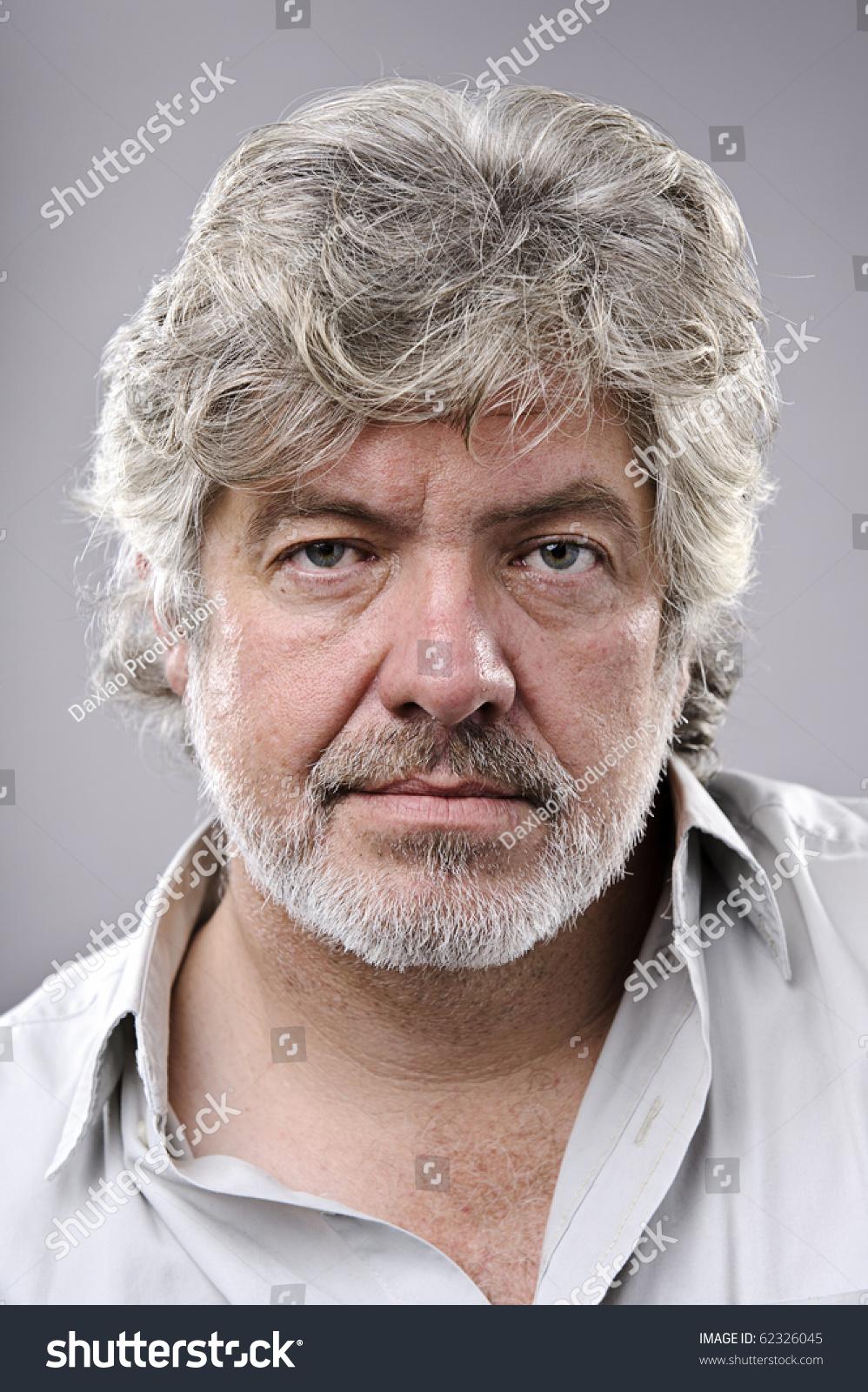 Old Man Grey Hair Wrinkled Skin Stock Photo Edit Now 62326045
