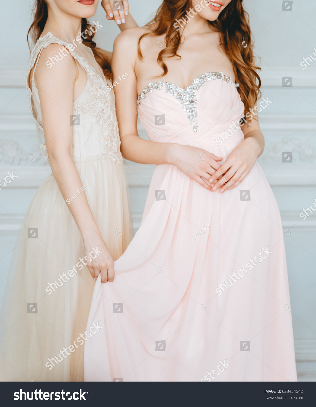 Blurred Image Pink Beige Pastel Colors Stock Photo (Royalty Free ...