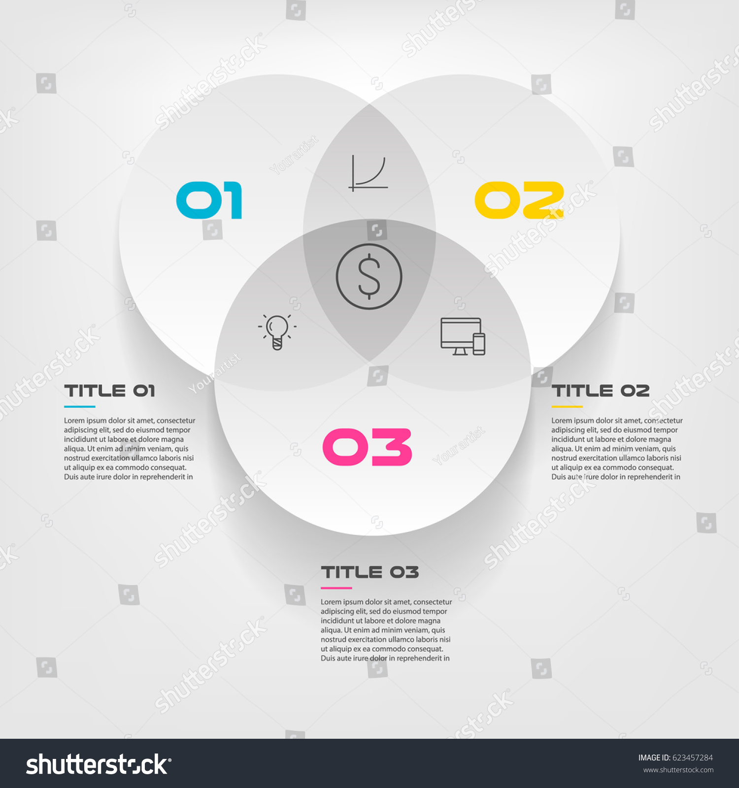 Circle venn diagram cat 5 e wiring diagram cat5 wire diagram venn diagram infographics three circle design stock vector stock vector venn diagram infographics for three circle design vector and marketing can be used pooptronica