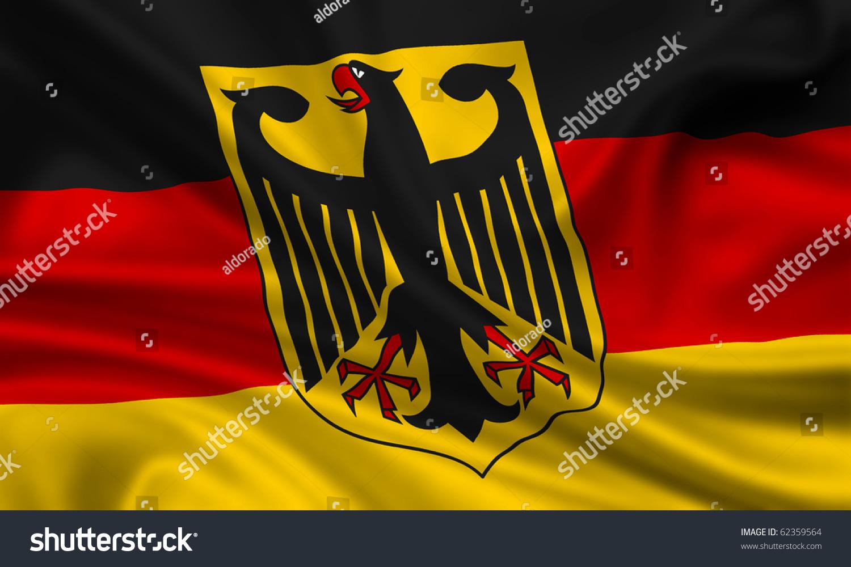 fahne flagge deutschland stock photo 62359564 shutterstock. Black Bedroom Furniture Sets. Home Design Ideas
