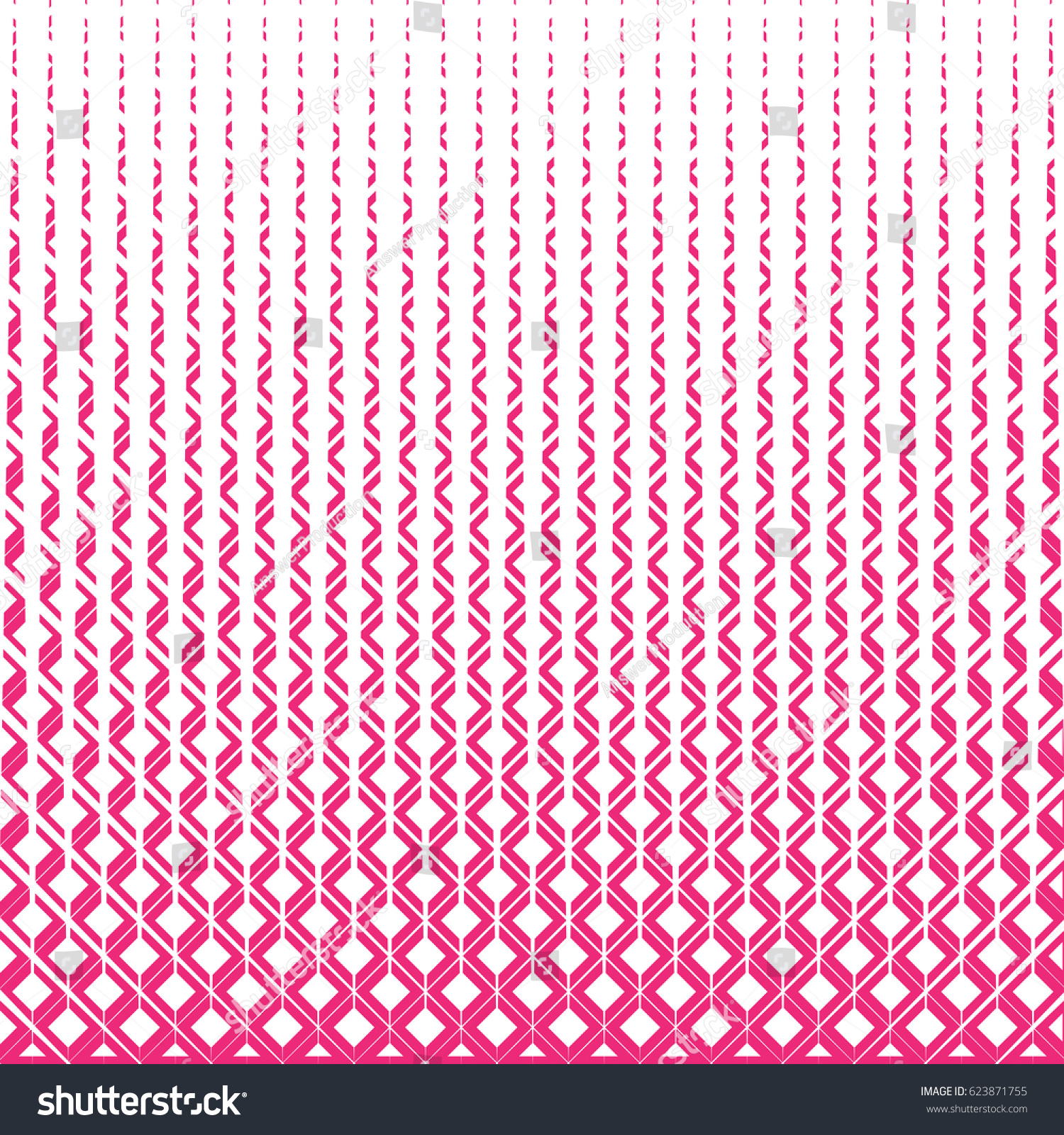 Geometric Patternpink And White Color BackdropFor Web Sitecover Template