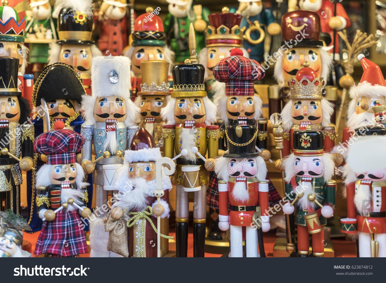 Christmas Toys Decorations Gift Traditional Christmas Stock Photo ...