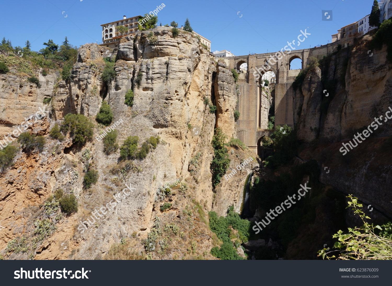 The famous Ronda bridge