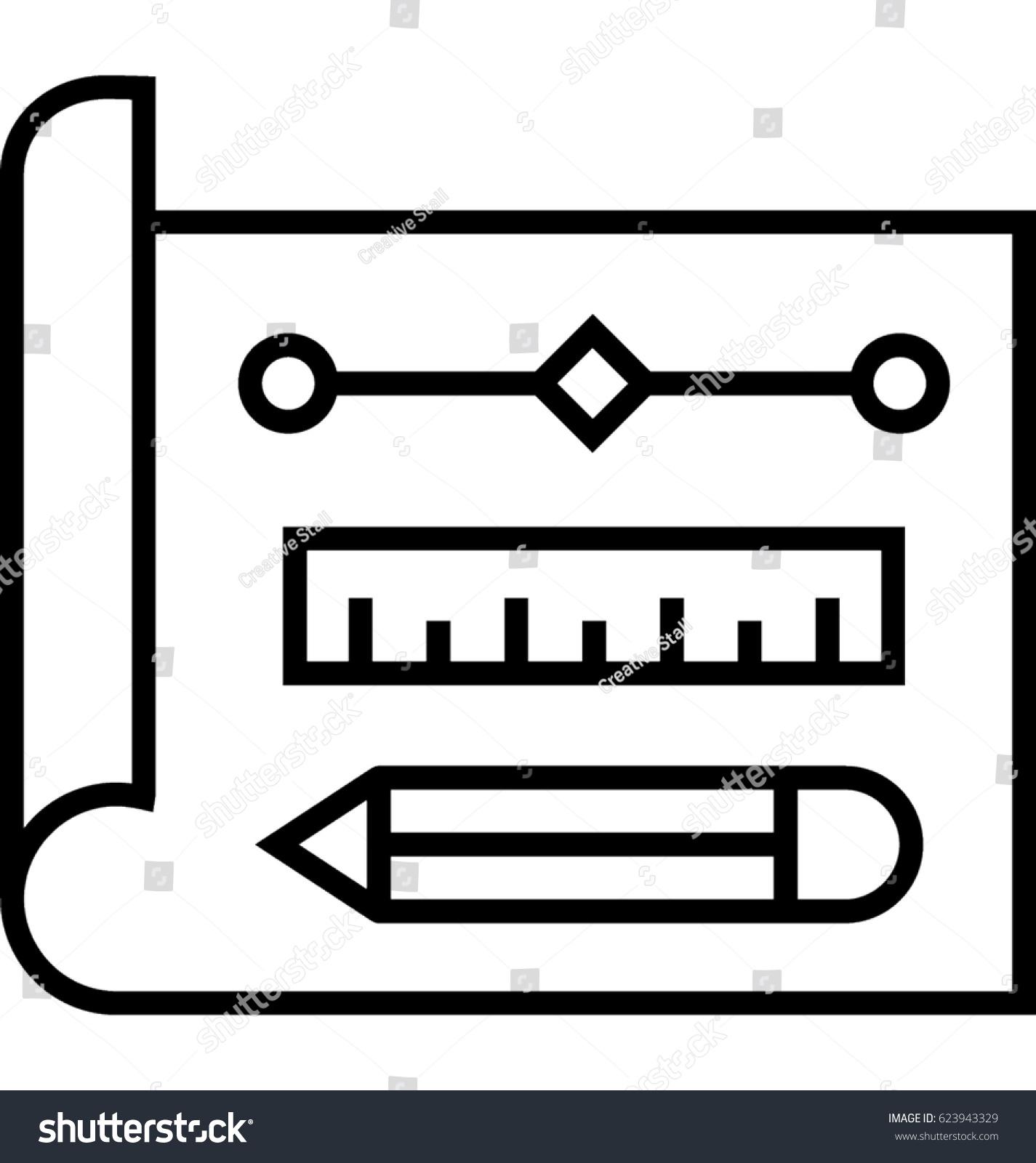 Prototype Vector Icon Stock Vector 623943329 - Shutterstock  Prototype Vecto...