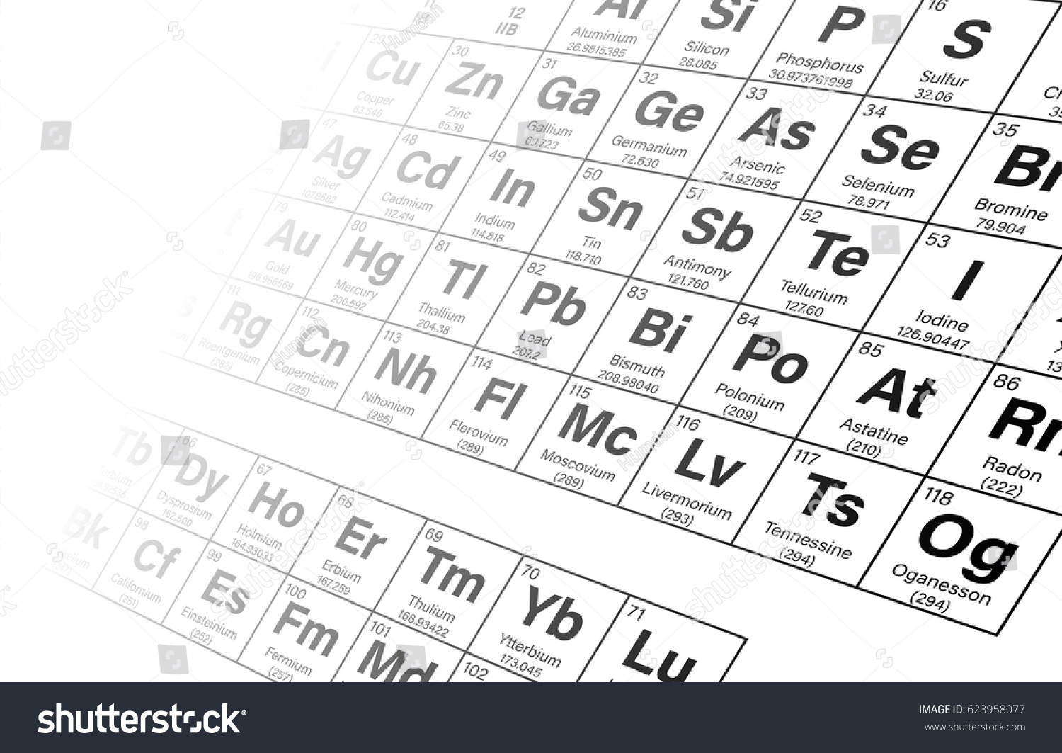 Periodic table element 35 images periodic table images periodic table 35 image collections periodic table images periodic table elements perspective background vector stock vector gamestrikefo Images