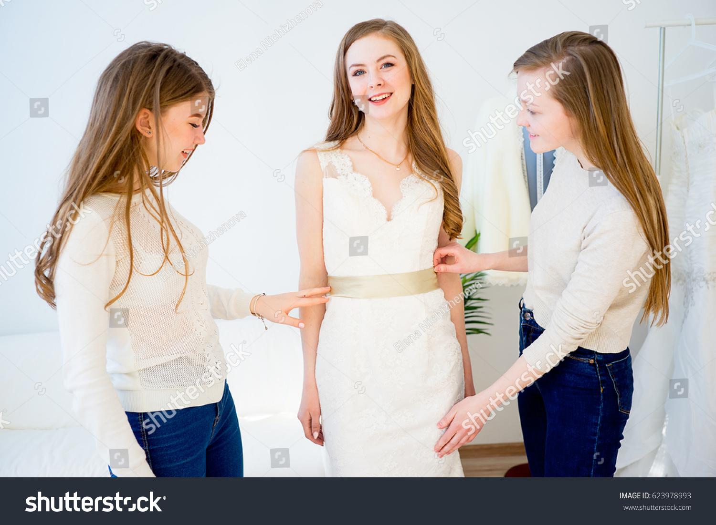 bride wedding shop stock photo edit now 623978993 shutterstock
