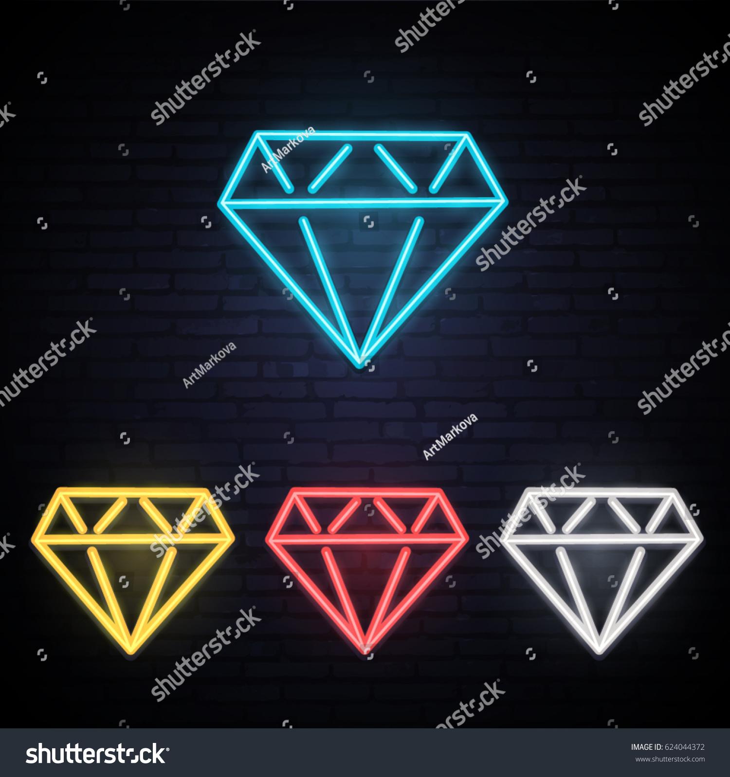 different colors of diamonds