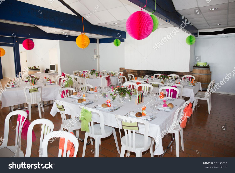 Table Setting Wedding Reception Stock Photo 624123062 Shutterstock