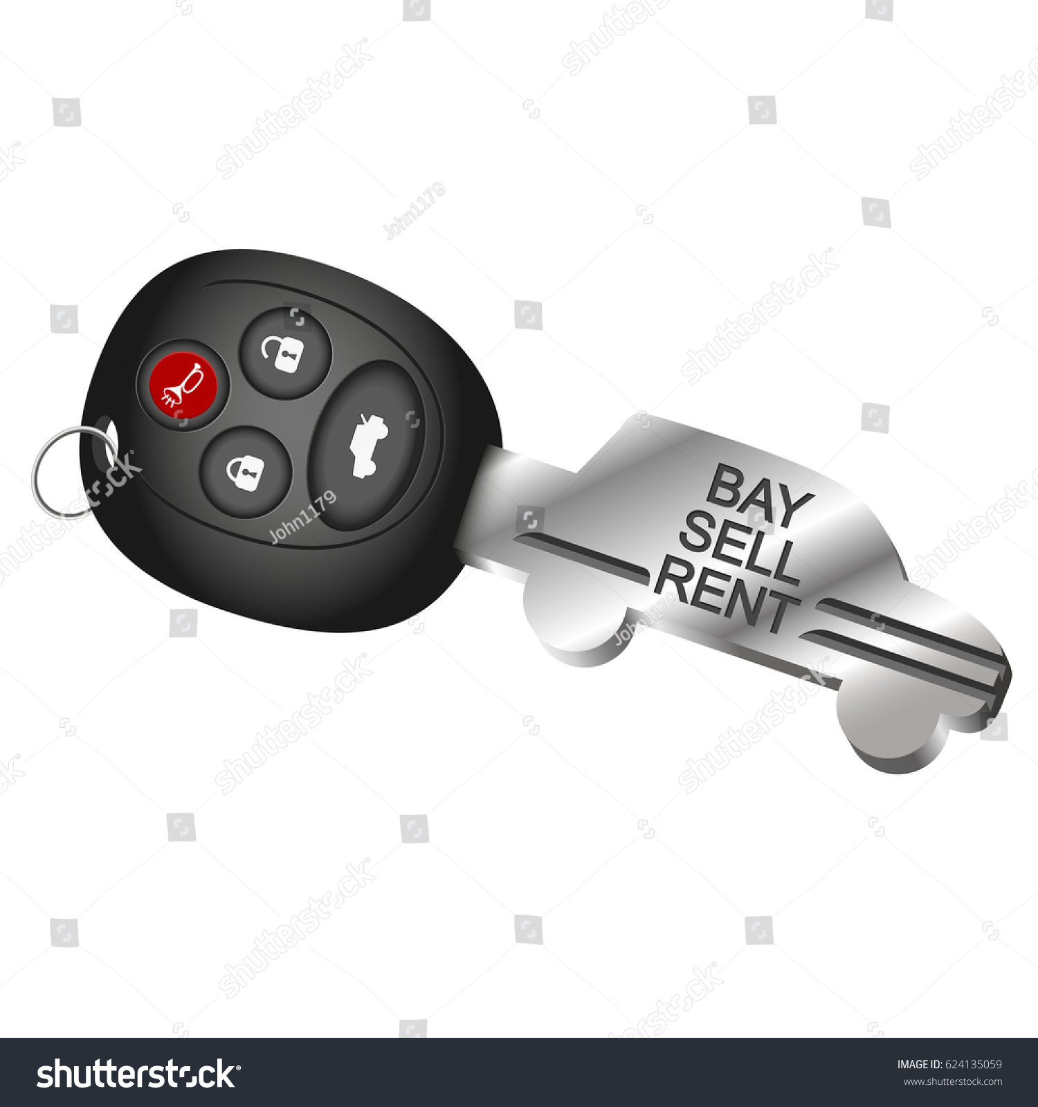 Symbol car key rental sale purchase stock vector 624135059 the symbol of a car key for the rental sale and purchase of cars biocorpaavc Choice Image