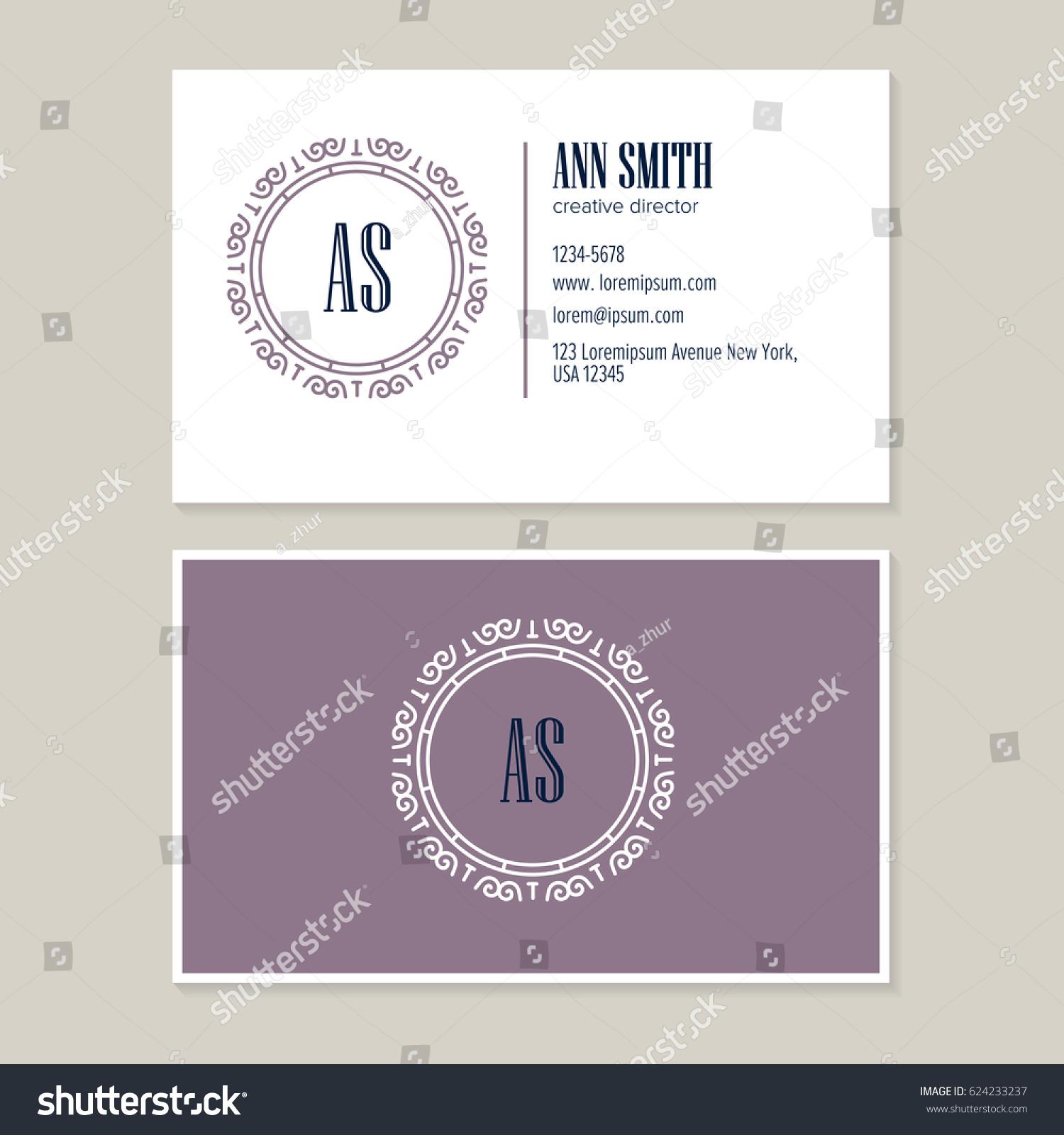 Elegant Flower Line Art Logo Design Stock Vector HD (Royalty Free ...