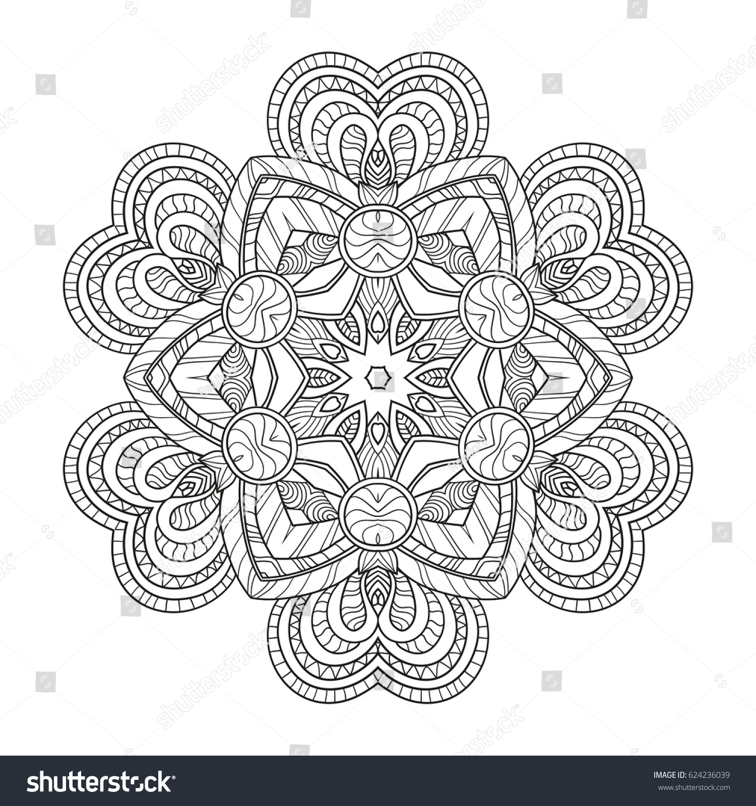 mandala coloring pages screenshot thumbnail click the arabic