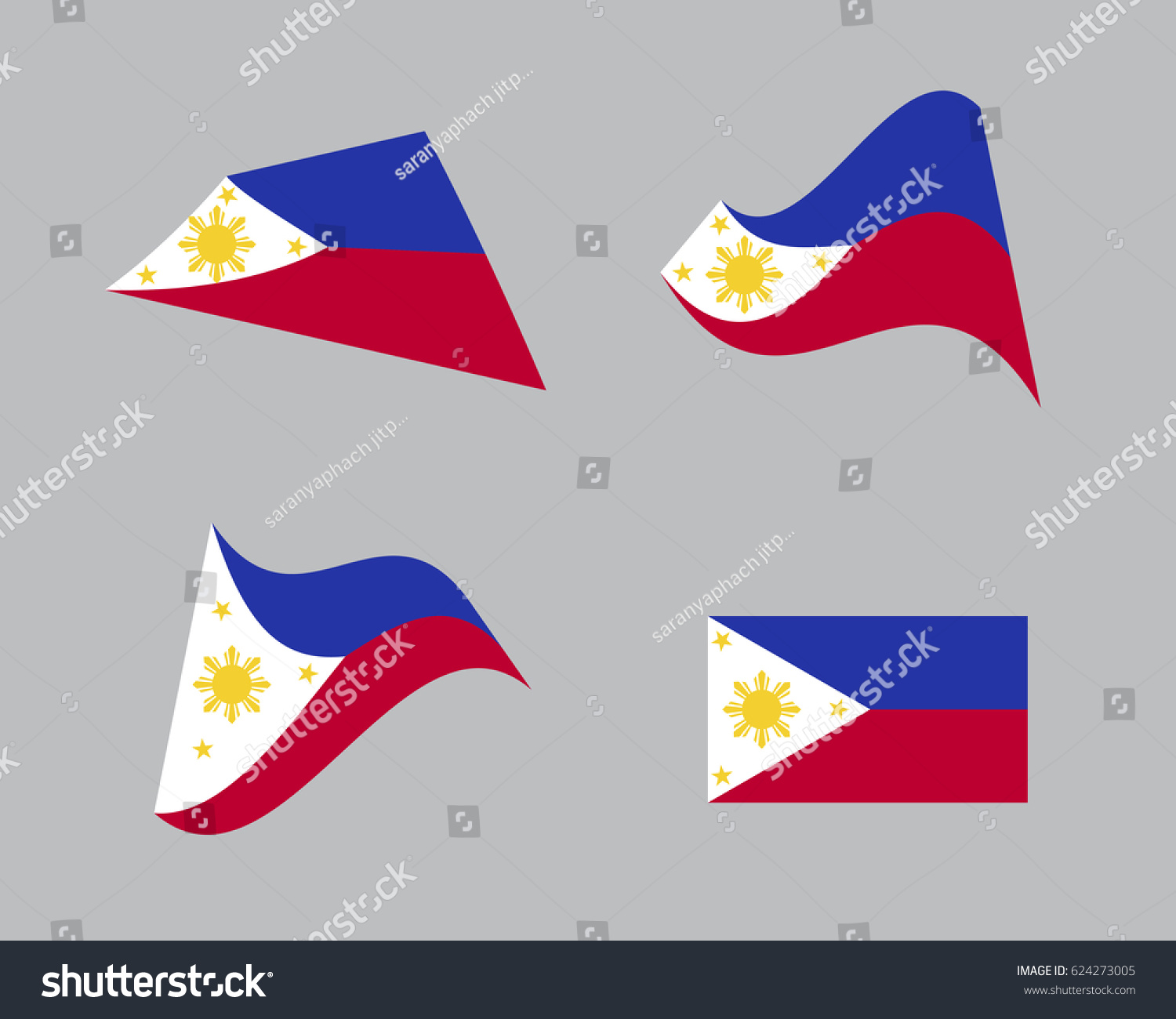 Flag philippines national country symbol illustration stock vector flag of philippines national country symbol illustration buycottarizona Images
