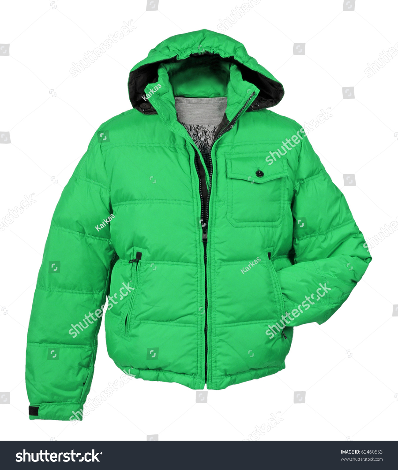 Green Jacket Stock Photo 62460553 - Shutterstock