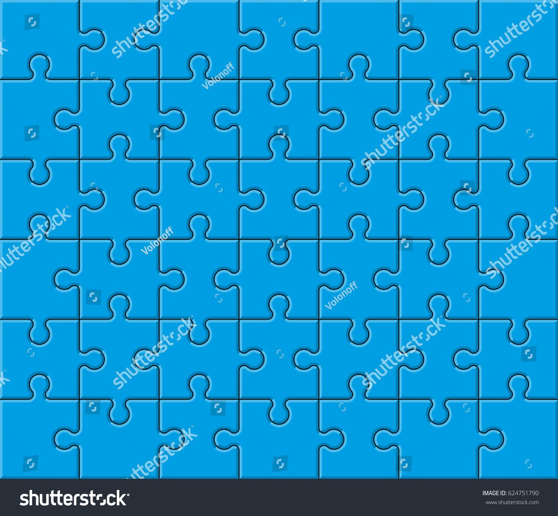 background pattern piece flat puzzle presentation stock vector