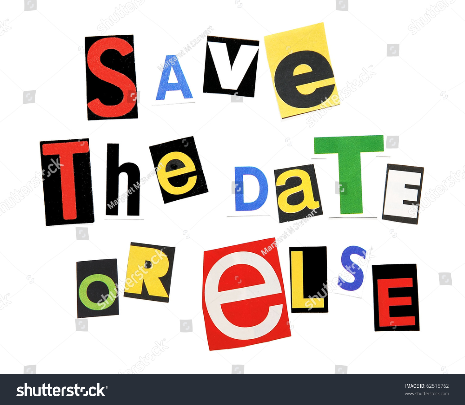 Save The Date Or Else