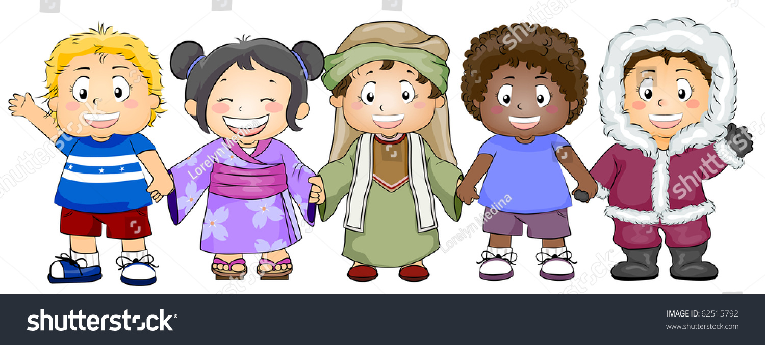 Illustration Featuring Kids Of Various Races And Ethnicity  62515792
