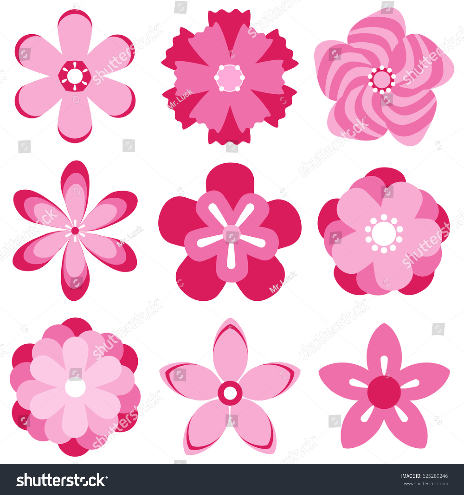 Sakura Cherry Blossom Japanese Cherry Blossoms Stock Vector ...