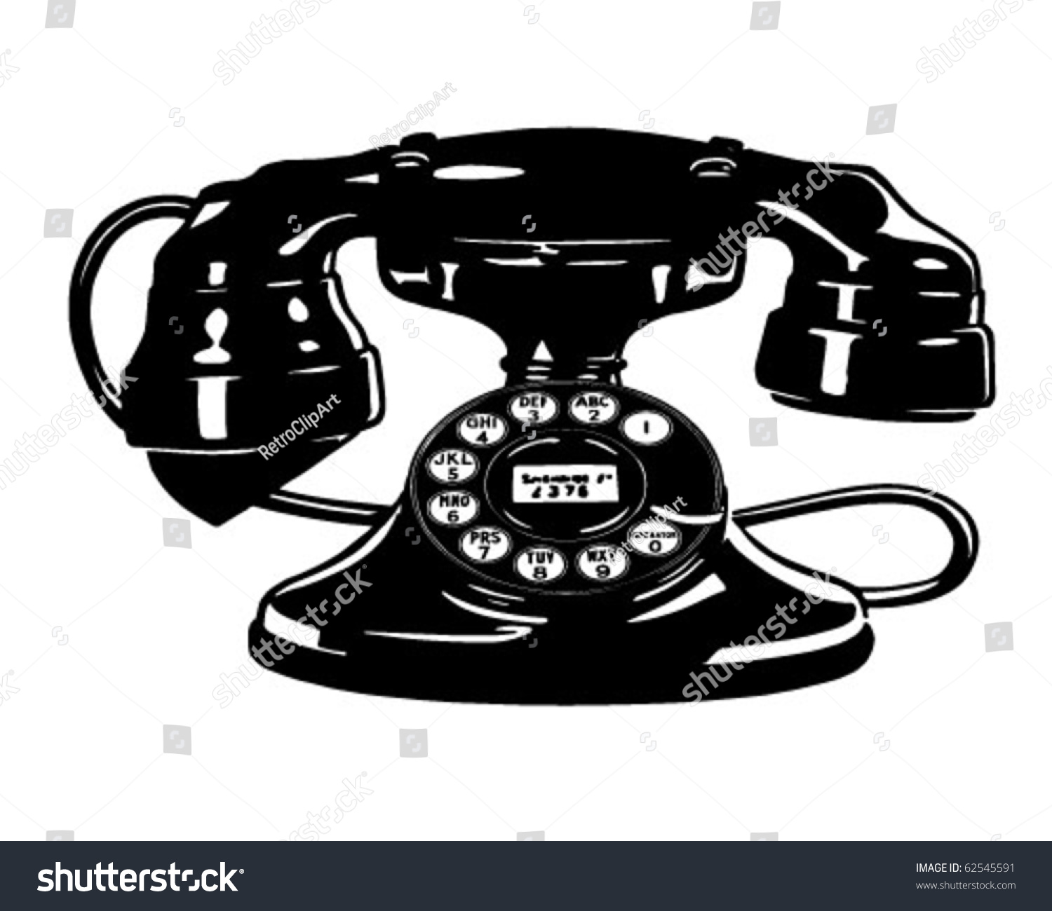 vintage telephone clipart - photo #5