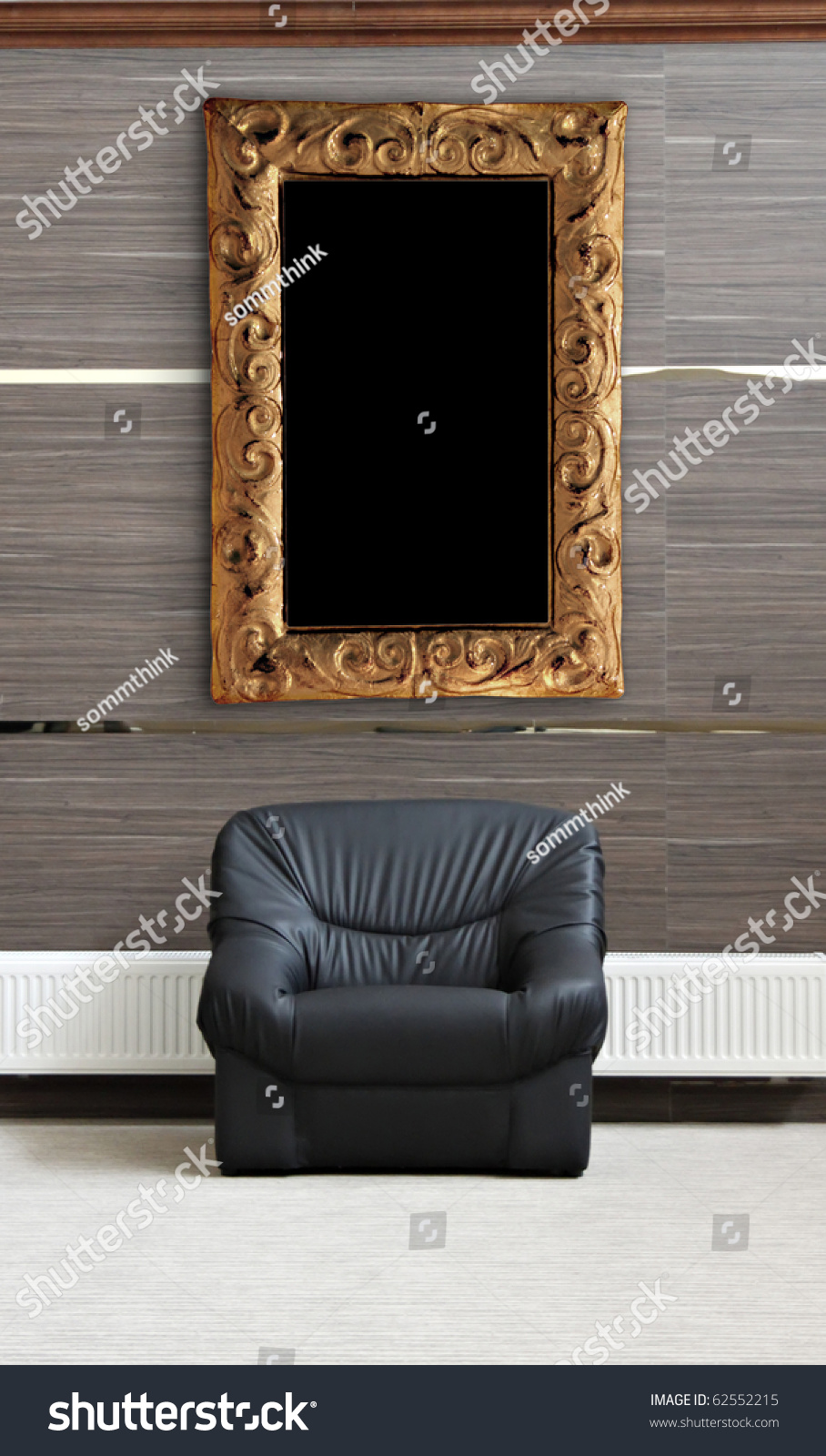 c65873ecdbc Royalty Free Stock Illustration of Black Chair Radiator Picture ...