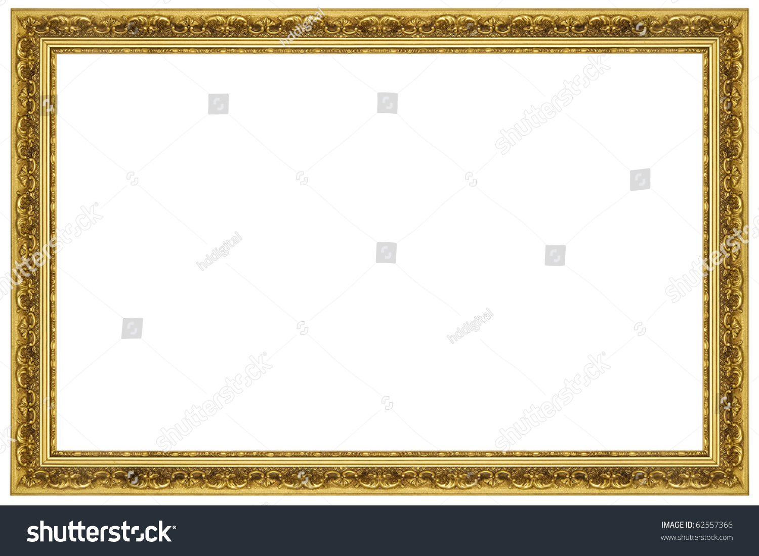 ornate gold frame