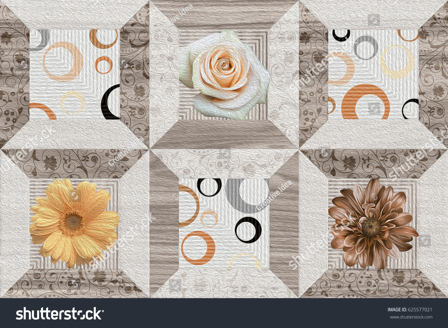 Wall floor tiles design pattern background stock illustration wall floor tiles design pattern background stock illustration 625577021 shutterstock dailygadgetfo Image collections